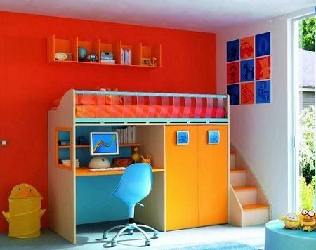Dormitorios juveniles en espacios peque os muebles cama - Dormitorios juveniles espacios pequenos ...