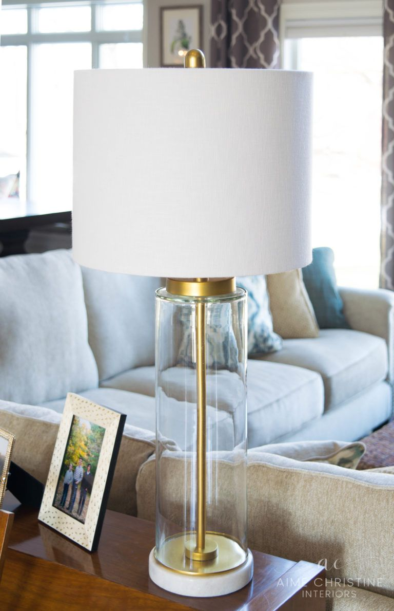 Gl Base Table Lamps Are A Pottery Barn Knock Off You Won T Want To Miss Www Aimechristineinteriors