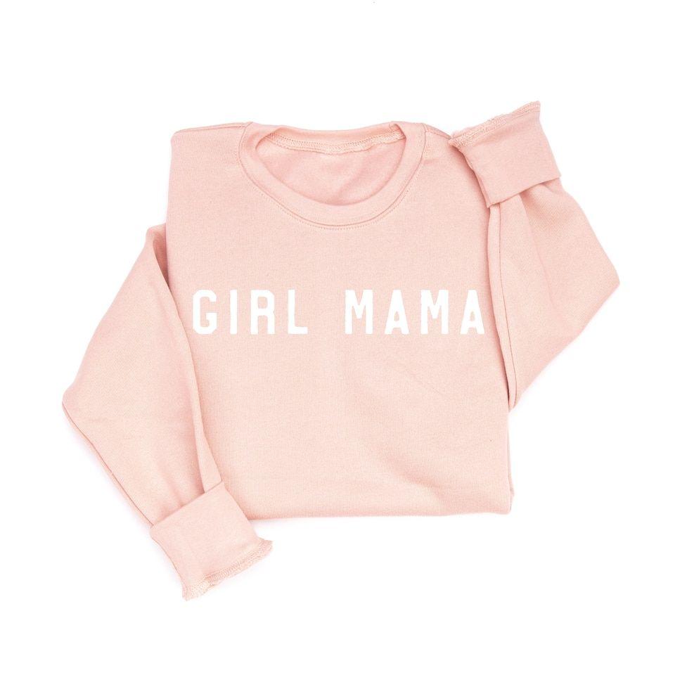 Mama Rough Girl Mama Or Boy Mama Peach Sweatshirt In 2021 Sweatshirts Comfy Sweatshirt Crew Neck Sweatshirt [ 960 x 960 Pixel ]