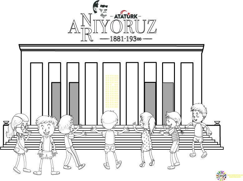 10 Kasim Ataturk U Anma Gunu Ve Haftasi Boyama Ercan Akmercan Resim