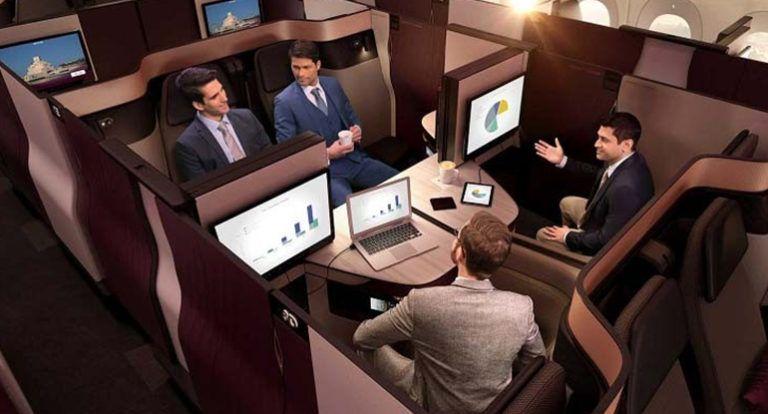 Aviation business class qatar airways business class seats