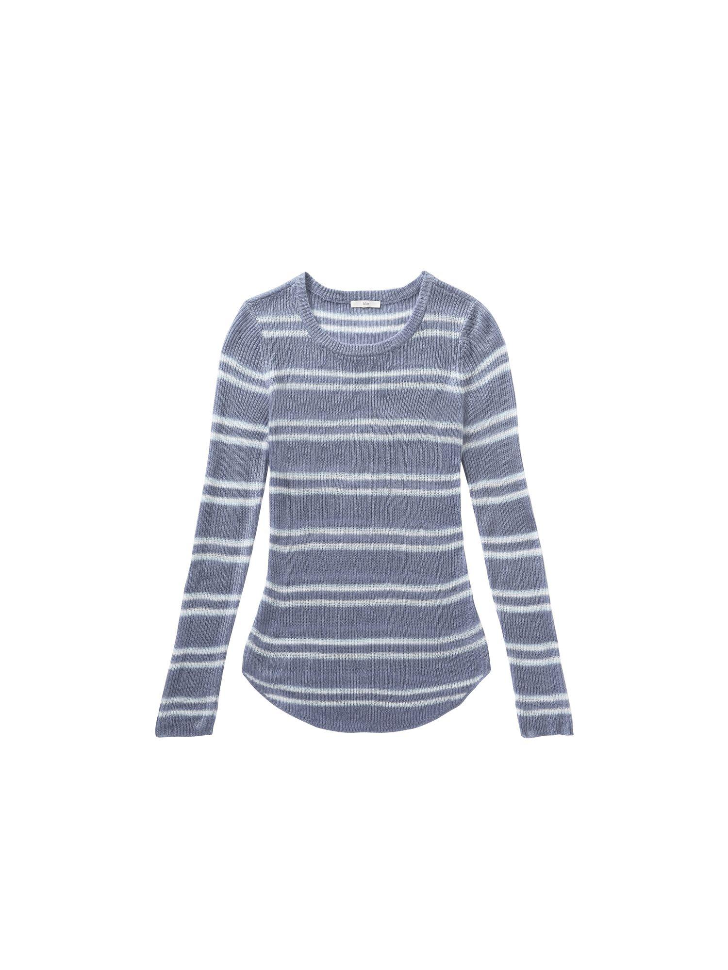 Mix Apparel - Collection - Stripe Lightweight Jumper