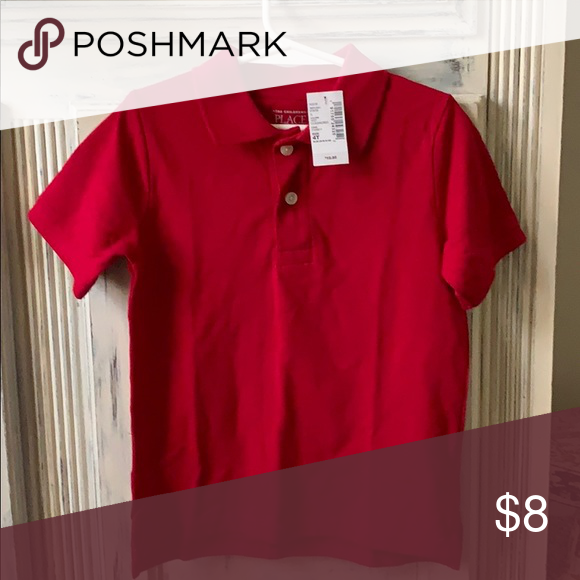 Nwt 4t Polo Style Shirt Brand New Classic Red Polo Shirt 4t The Children S Place Shirts Tops Polos Shirt Style Shirts Red Polo Shirt
