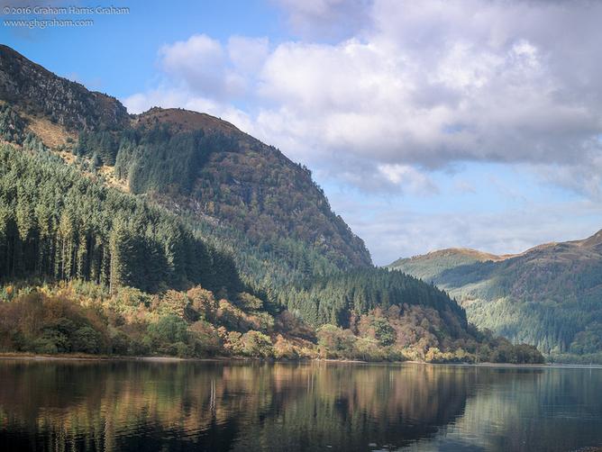 Los Trossachs es una pequeña zona de vallecitos boscosos en la zona del concejo de Stirling. #TheTrossachs #Stirlingshire #Escocia #Scotland #visitscotland #ReinoUnido #UK #ScopSpirit