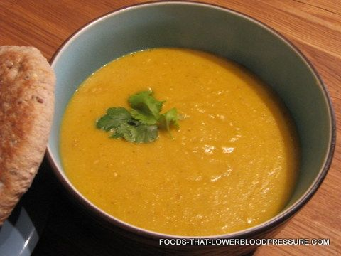 lentil soup dash diet