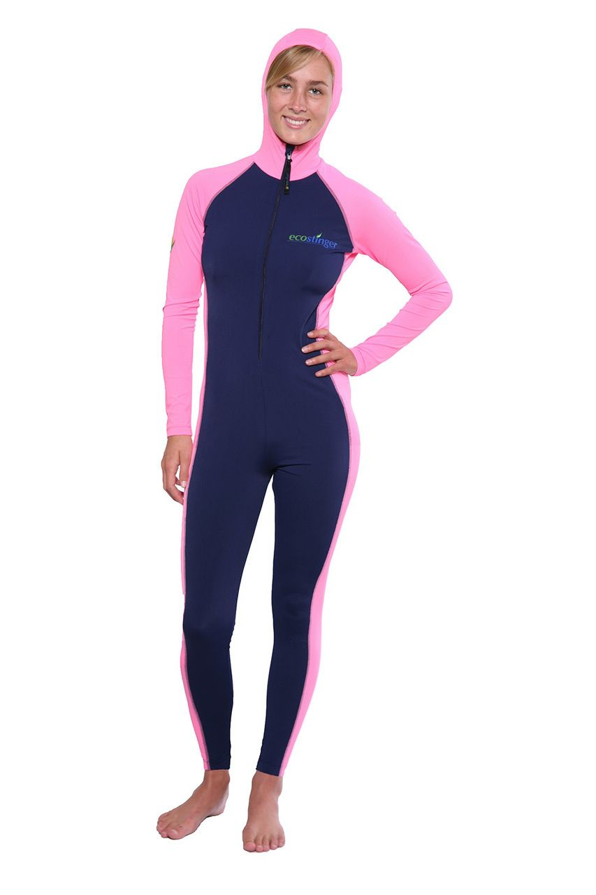 2f27652148 Ladies Full Body UV Swimsuit with Hood Sun Protective UPF50+ (Chlorine  Resistant) - EcoStinger