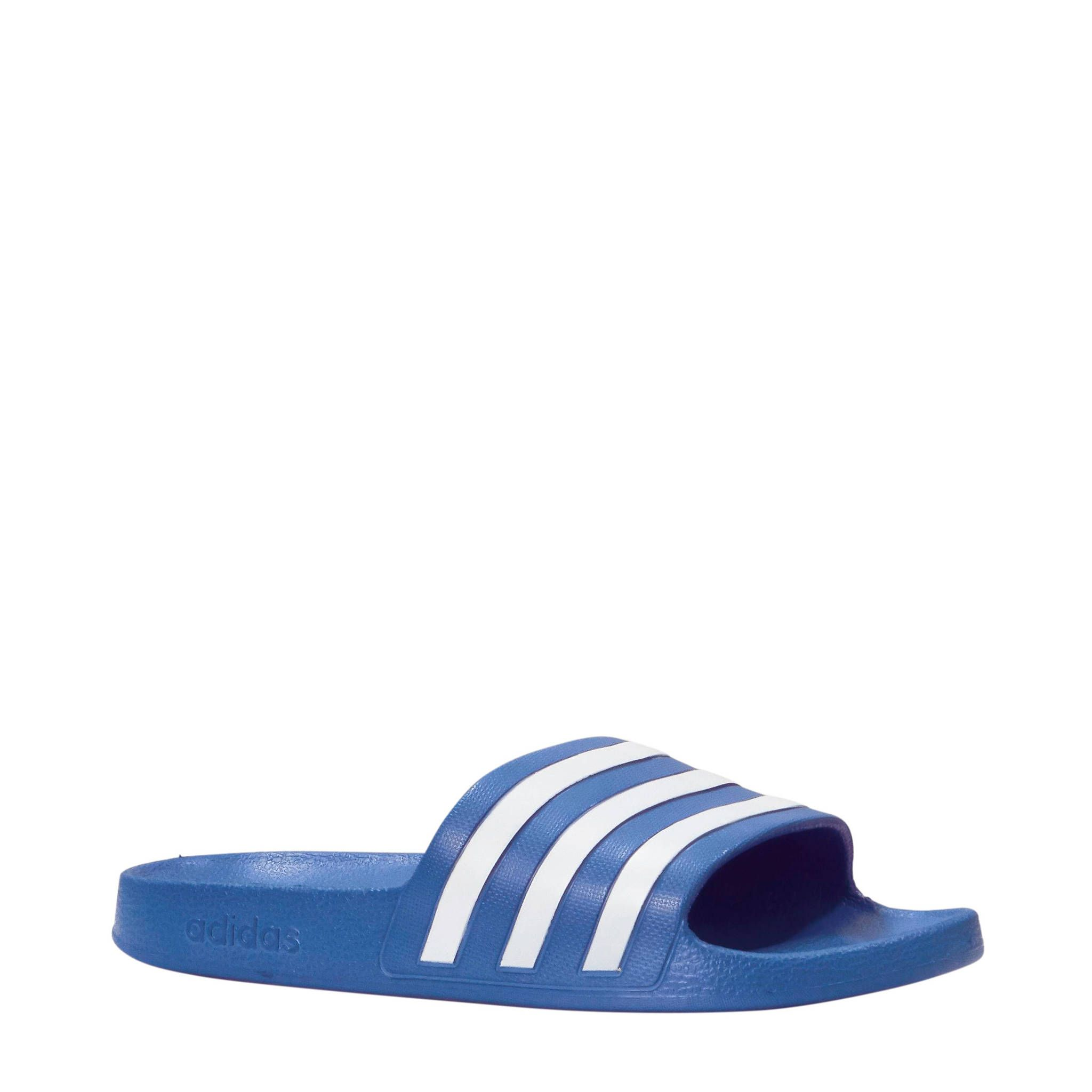 Adilette Aqua badslippers aqua/wit - Adidas, Aqua en Slippers
