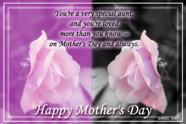 Mothers Day Messages Aunt For My Aunt On Mothers Day Egreeting Christian Ecards Mother Day Message Happy Mothers Day Happy Mothers