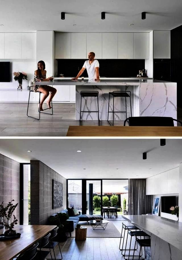 have a contemporary duplex with hidden garages and  The Jamison Architects have a contemporary duplex with hidden garages and The Jamison Architects have a contemporary d...