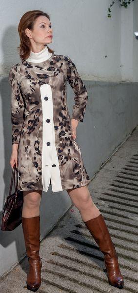 Kleid, New York, Jerseykleid, kleid, 60er Jahre | York, Produkte und ...