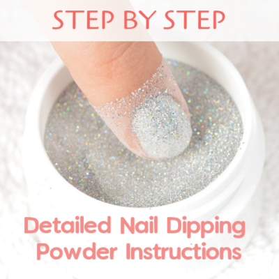 very detailed stepstep nail dip instructions step