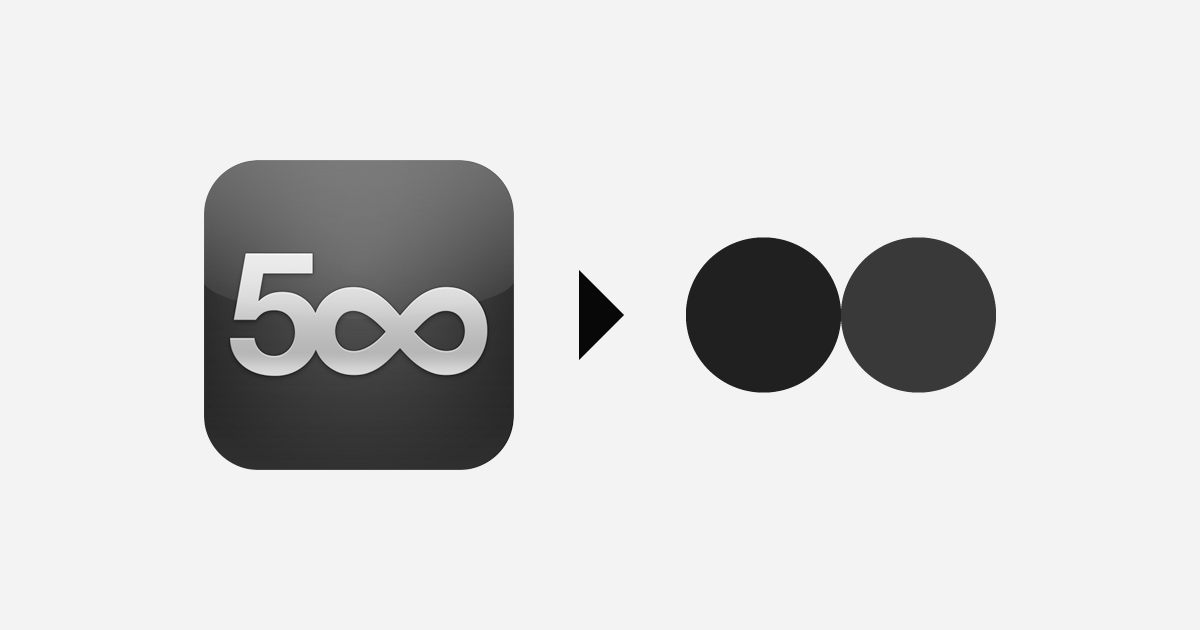 Try this IFTTT Recipe: Upload to Flickr from 500px