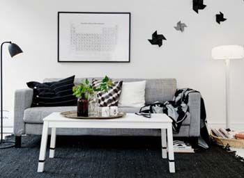 Decoración nórdica. 40 hermosos salones nórdicos. | Mil Ideas de Decoración
