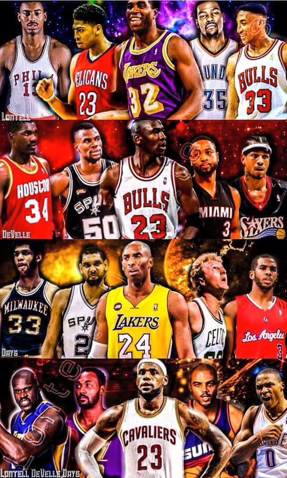 NBA fantasy teams. I got Jordan & AI squad tho | NBA Basketball ...