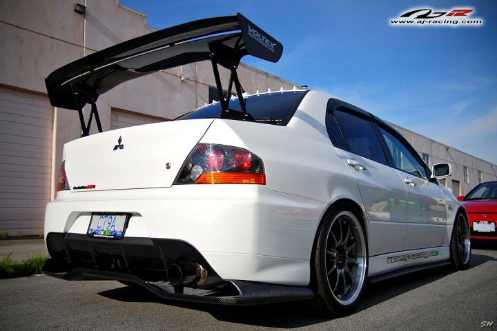 da18469af78d Evo double voltex wing (GT Wing)