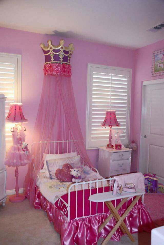 Princess Bedrooms For Little Girls