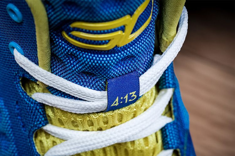 a5e935d1a509 Stephen Curry s New Kicks-the 4 13 on the shoe represents the Bible verse  Philippians 4 13 I can do all things through Christ who strengthens me.