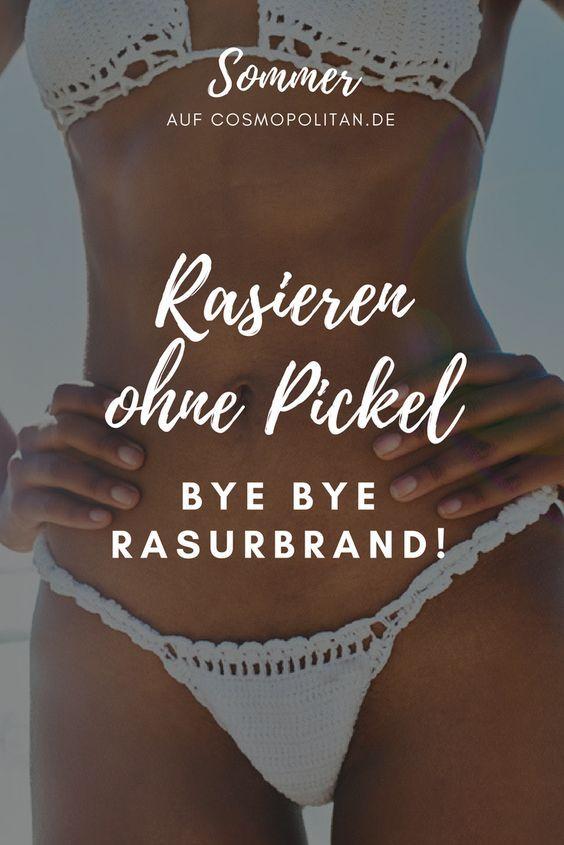 Intimrasur ohne Pickel: Nie wieder Rasurbrand in der Bikinizone #hairremoval