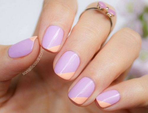 15 Easy Spring Nail Art Designs, Ideas, Trends & Stickers 2015 - 15 Easy Spring Nail Art Designs, Ideas, Trends & Stickers 2015