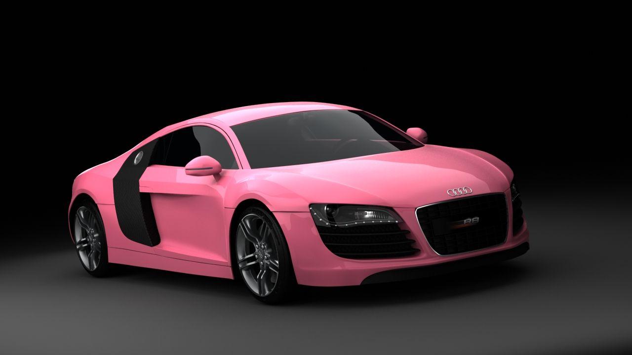 Audi Pink Girl Rosa Audir8 R8 Audi In Colors