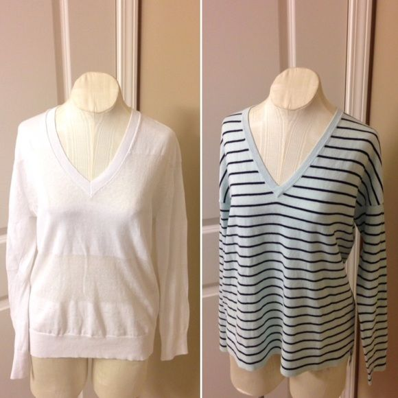 Size S Gap lightweight sweater bundle 2 super cute thin sweaters ...