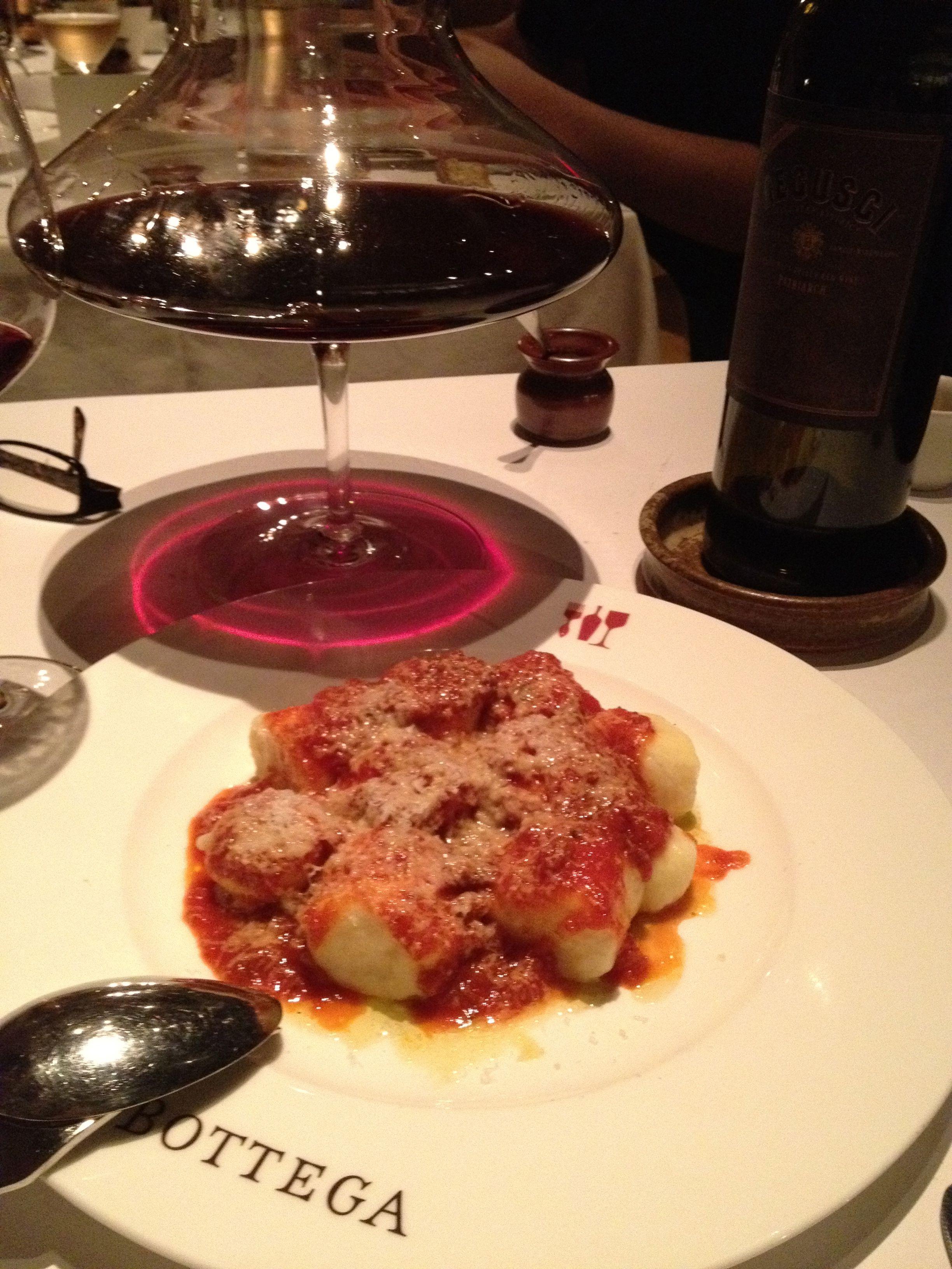 My favorite gnocchi, Bottega style.