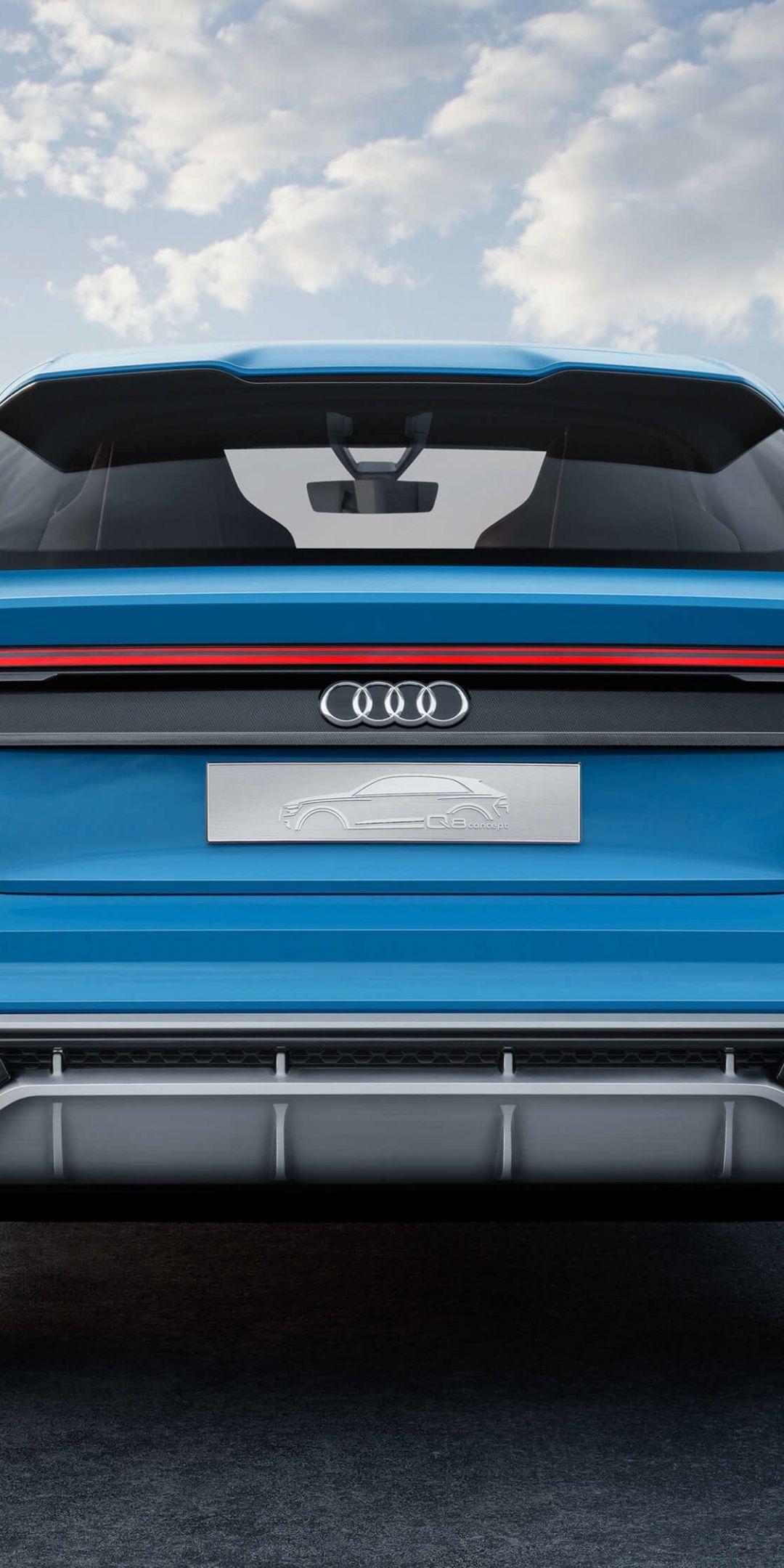 Audi Q8 Suv Rear View 1080x2160 Wallpaper Audi Suv Rear View