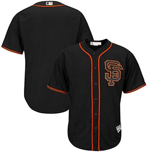 San Francisco Giants Mlb Mens Majestic Cool Base Alternate Jersey Black Big Amp Tall Siz Team Jersey San Francisco Giants Jersey San Francisco Giants Players