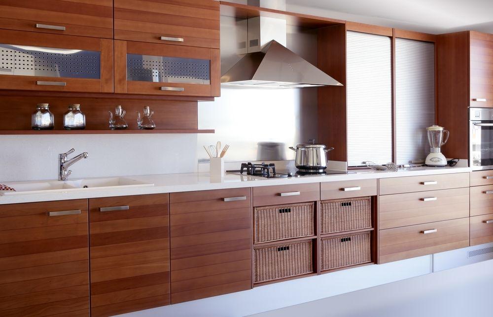 Moderne Holz Küche WOHNEN  EINRICHTEN Pinterest