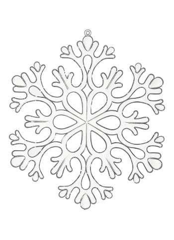 schneeflocke | weihnachtsschablonen, schneeflocke vorlage