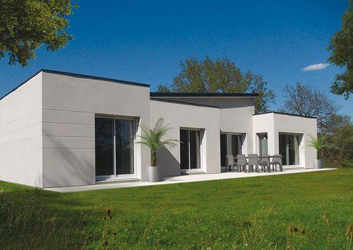 Une maison au coeur de la nature Villas, Construction and Architecture - faire un crepi exterieur