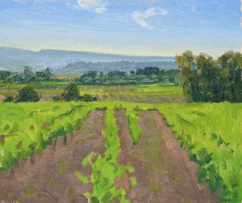 Ian Roberts Gallery Plein Air Paintings Artist O Ian Roberts Painting Shape Art Artist
