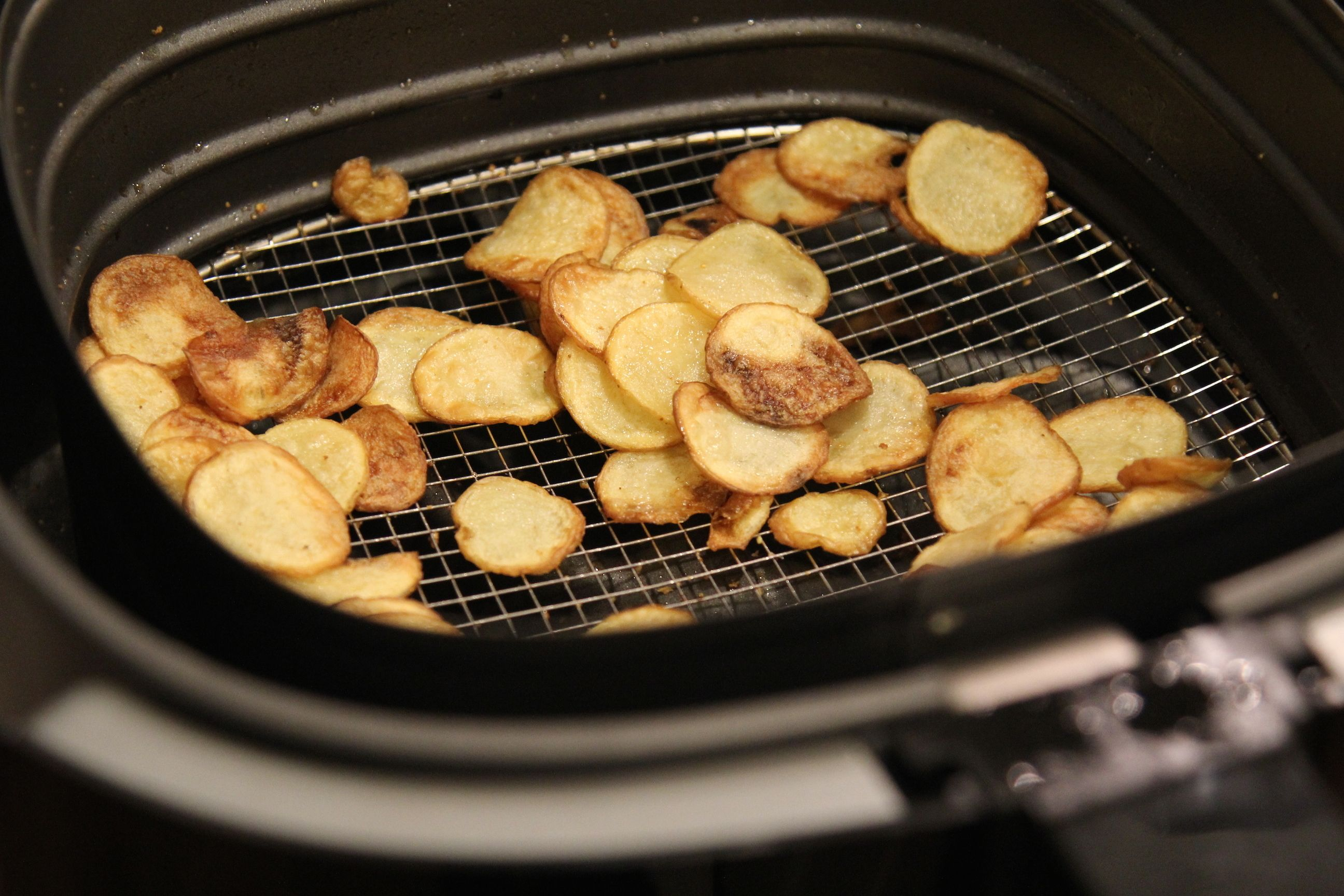 Salt and Vinegar AirFryer Potato Chips De Nigris Air