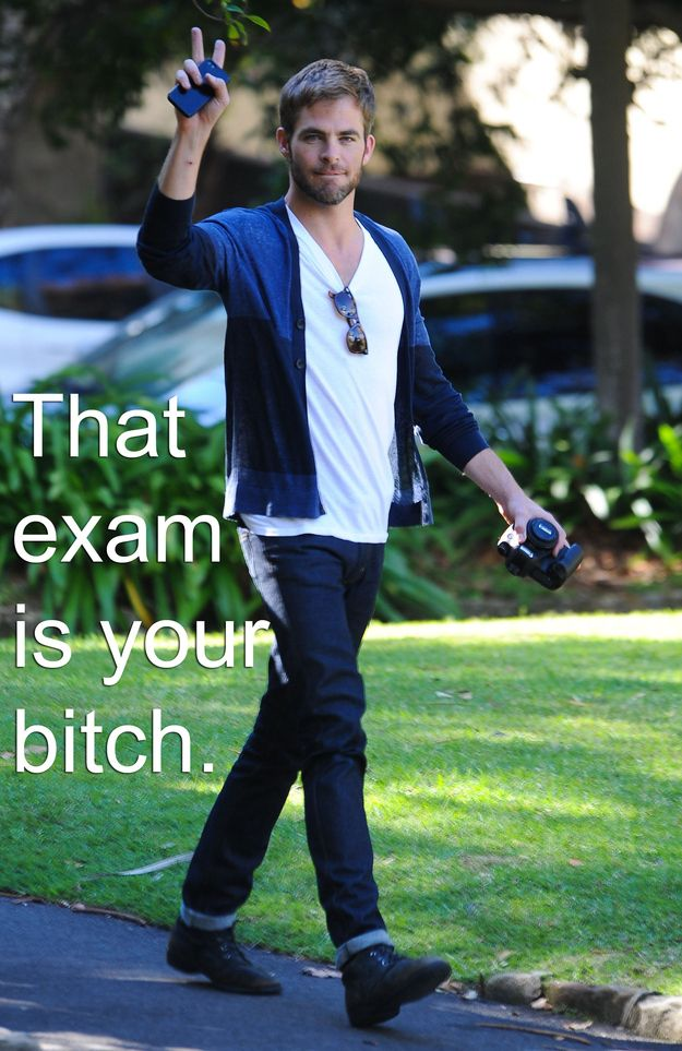 Chris Pine: | Hot Guys To Motivate You For Finals