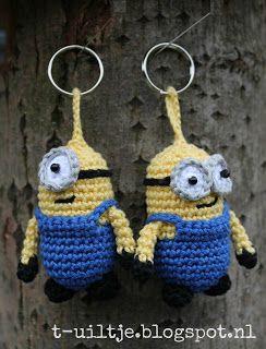 Crochet Free Pattern Xmas Socks Keychain Haken Gratis