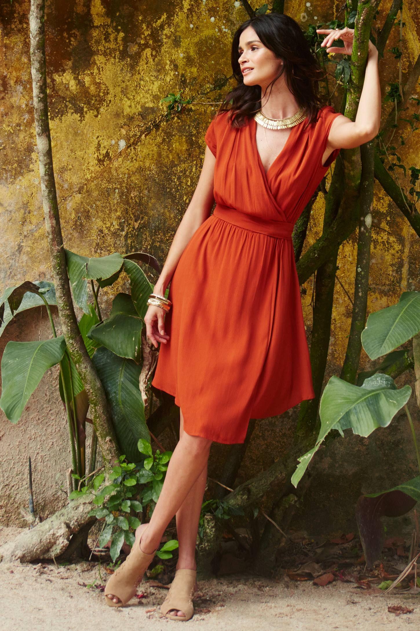 370c5414bf30 Noronha Wrap Dress - anthropologie | That's a Wrap | Pinterest ...