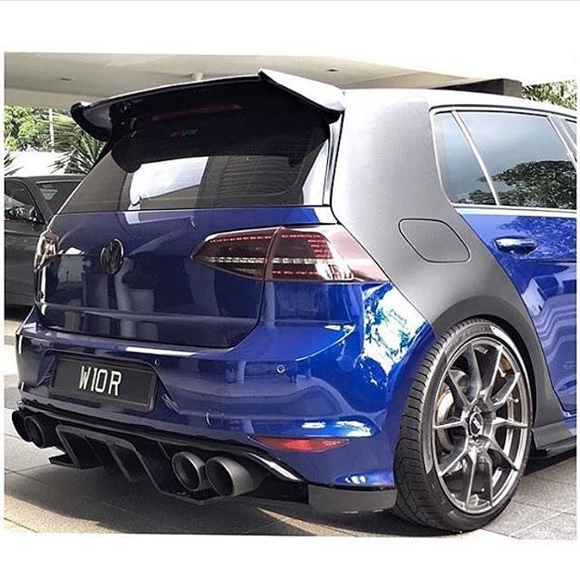 Golf R Bumper Stickers