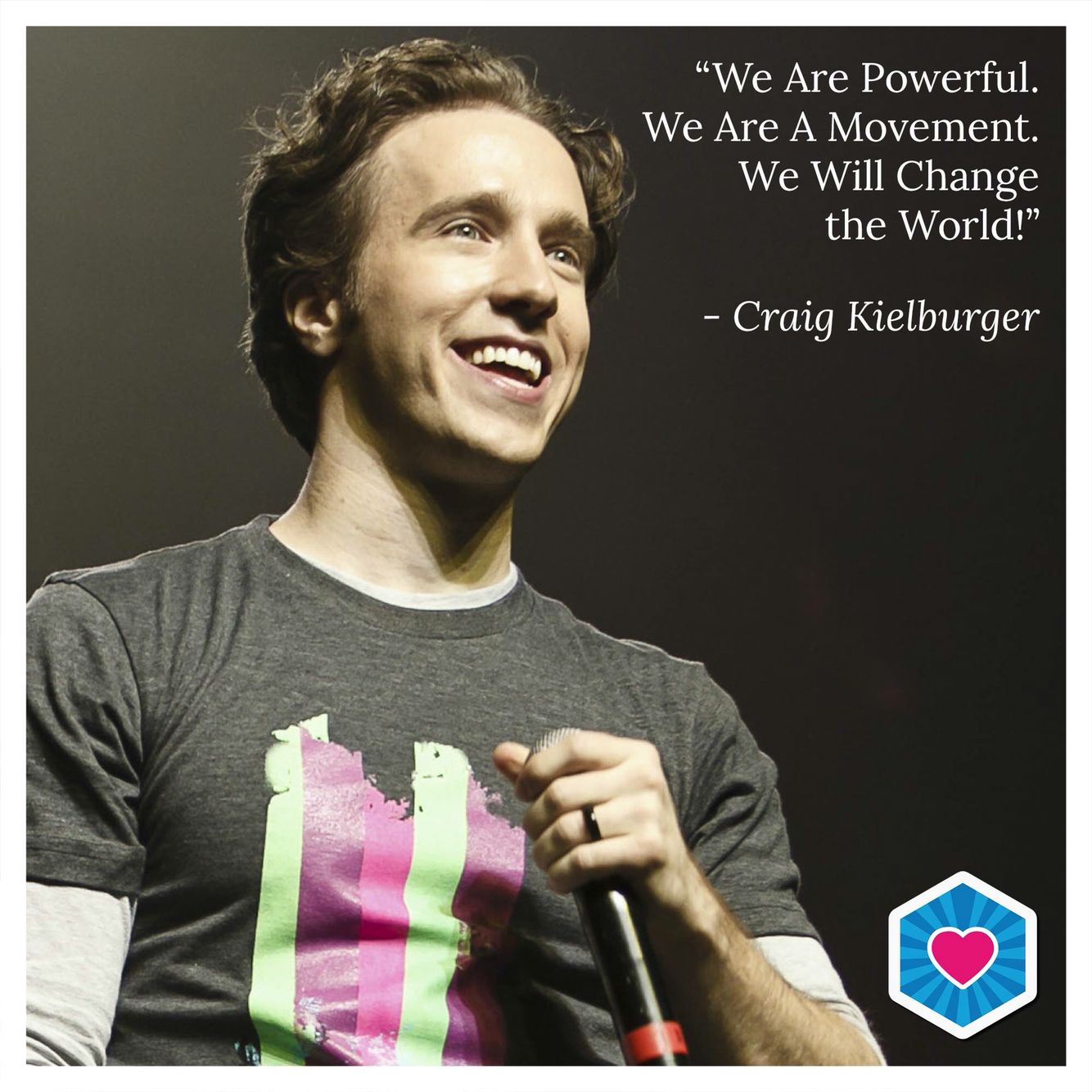 Craig Kielburger founder of MeToWe. So proud of the Thornhill Woods native!