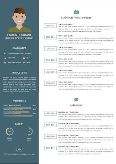 faire un cv en ligne pdf Créer un CV PDF moderne et design avec CV EN LIGNE.io | CV PDF  faire un cv en ligne pdf