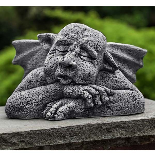 Sleepyhead Outdoor Gargoyle Statue S-480 Halloween Decorations - halloween statues