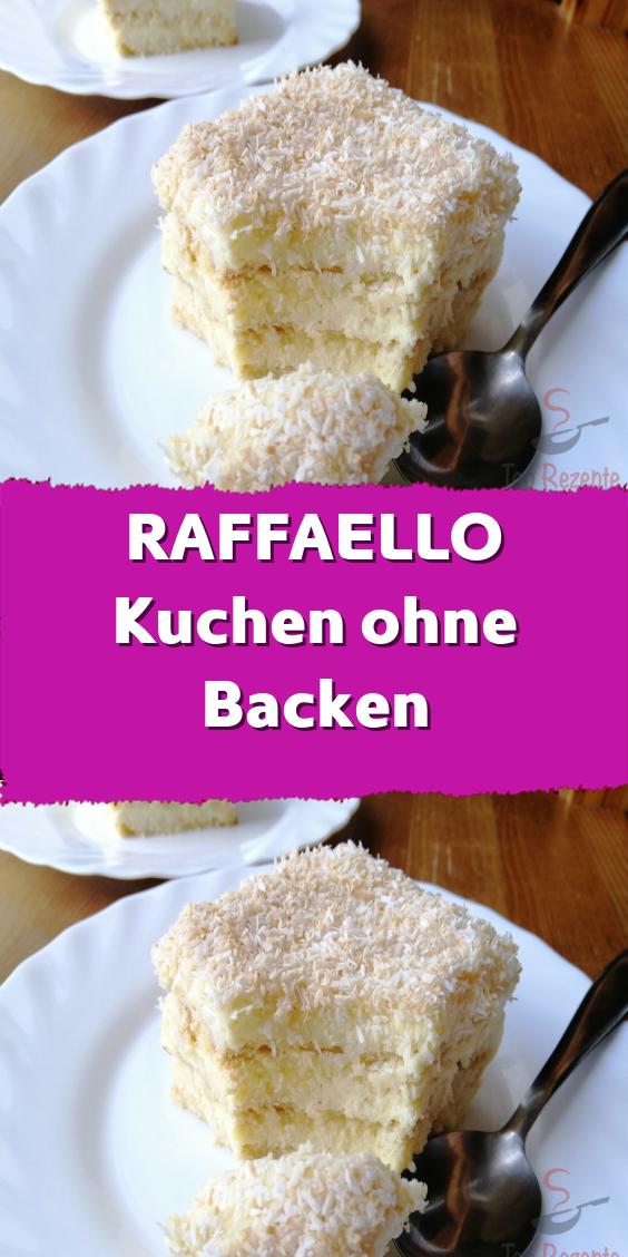 RAFFAELLO Kuchen ohne Backen