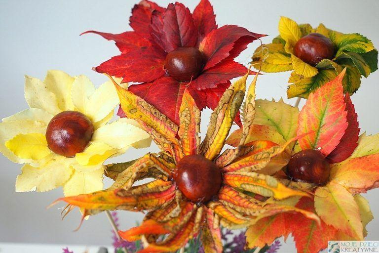 Co Mozna Zrobic Z Lisci 17 Pomyslow Moje Dzieci Kreatywnie Fall Crafts Crafts For Seniors Crafts For Kids
