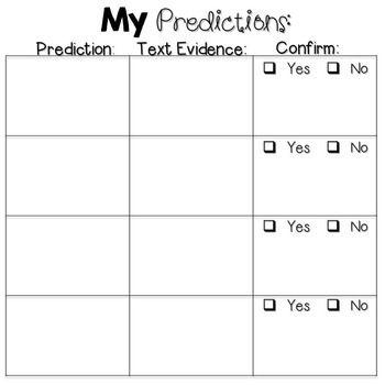 Making Predictions — Instant Worksheets   Education   Pinterest ...