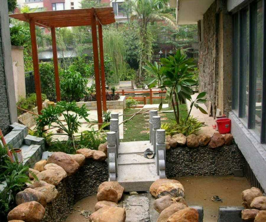 small backyard garden design
