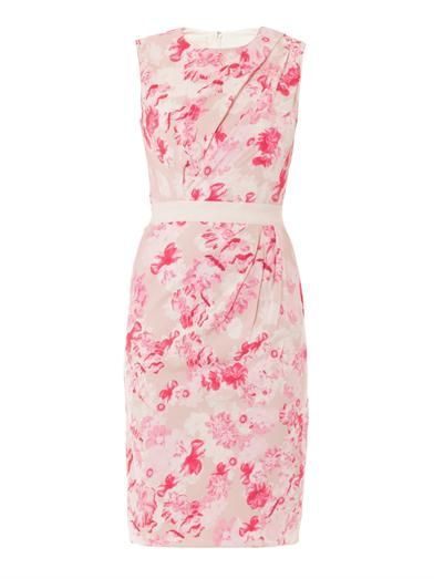 Floral-print sleeveless dress   Giambattista Valli   MATCHESFA...