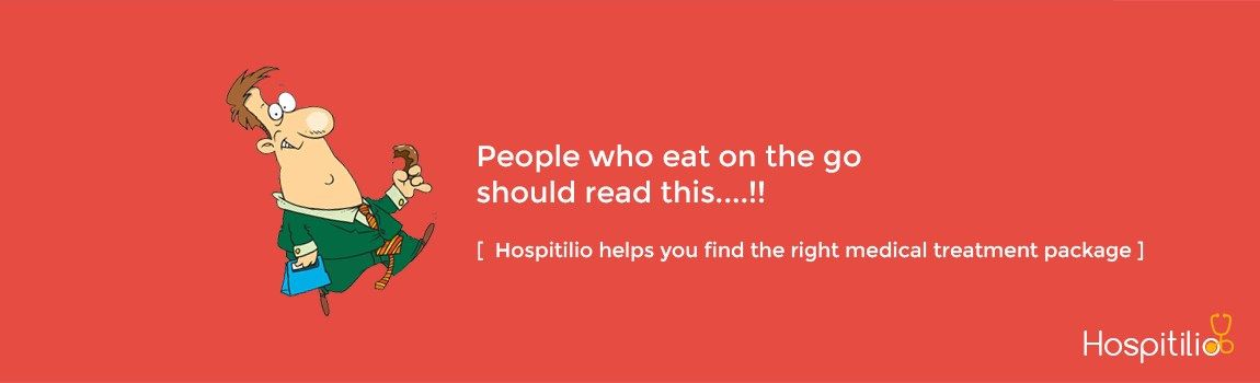 People who eat on the go should read this