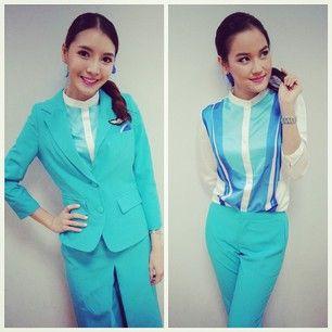 Bangkok airways alh as bangkok airways pg pinterest for Spa uniform bangkok