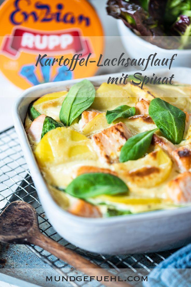 Photo of Rezept | Kartoffel Lachs Auflauf mit Spinat | Mundgefühl | Gesund und schnell kochen 2020