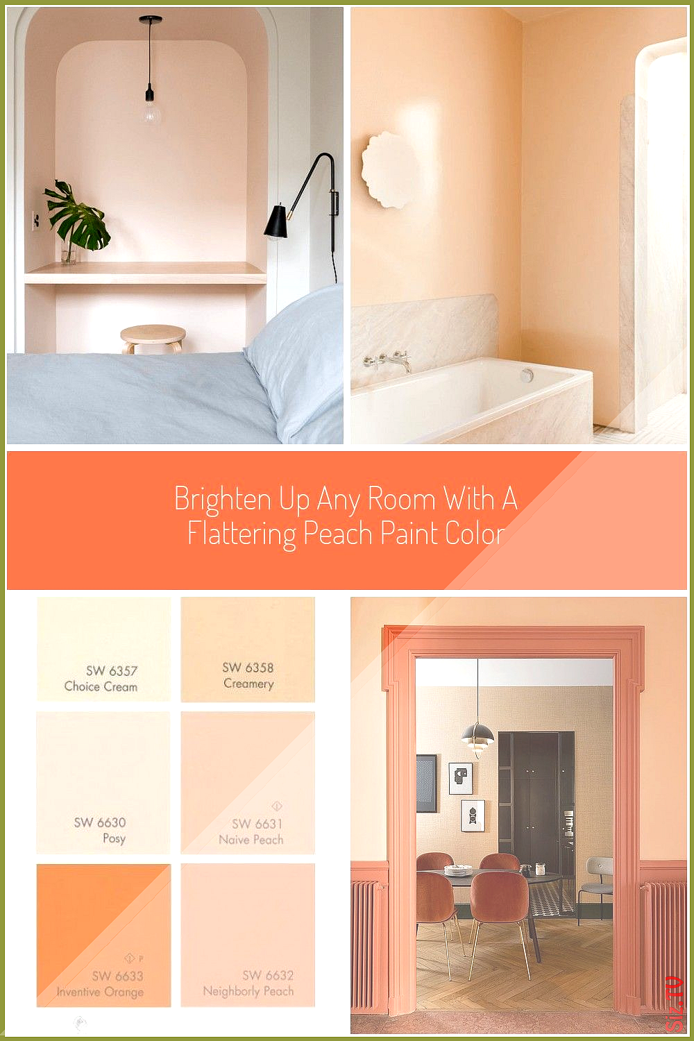 Brighten Up Any Room With A Flattering Peach Paint Color Wow 1 Day Painting Peach Paint Brighten Up Any Room With In 2020 Peach Paint Peach Paint Colors Paint Colors