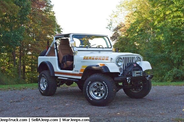 Jeeps For Sale And Jeep Parts For Sale 1983 Jeep Cj7 Renegade